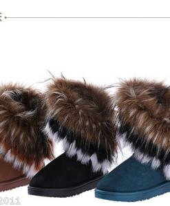 Fascinating Beige Round Toe Sequin Wedge Heel Boots   Amazing Shoes UK