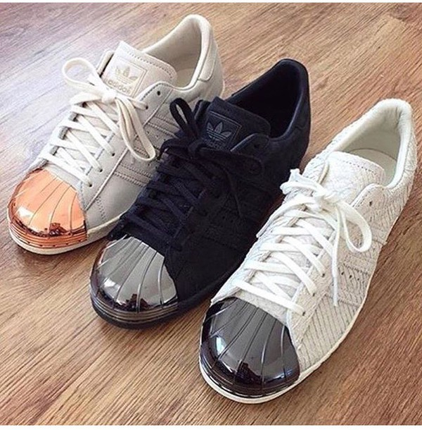adidas superstar rose gold komplett