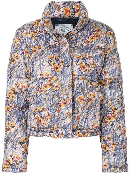 Prada jacket women floral