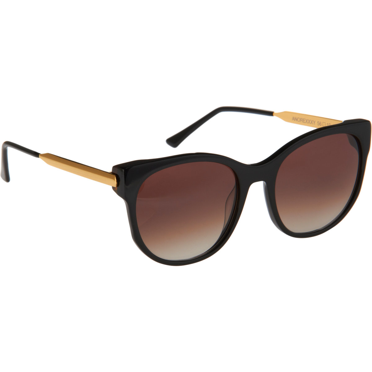 Thierry lasry anorexxxy shiny black/gradient brown at barneys.com
