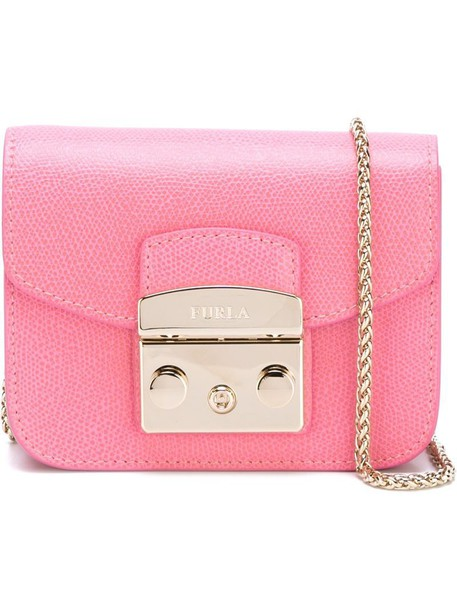 Furla Furla mini 'Metropolis' crossbody bag in pink / purple