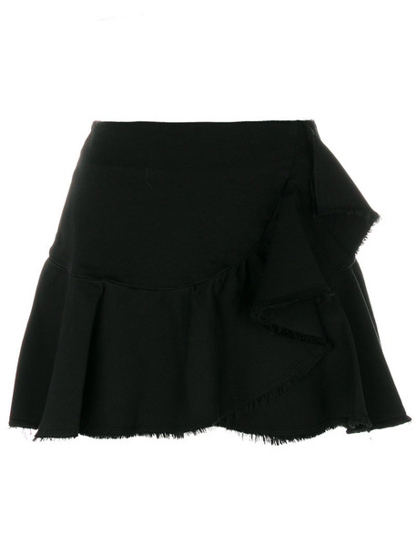 8pm skirt women spandex cotton black