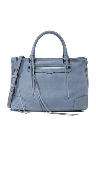 satchel blue bag