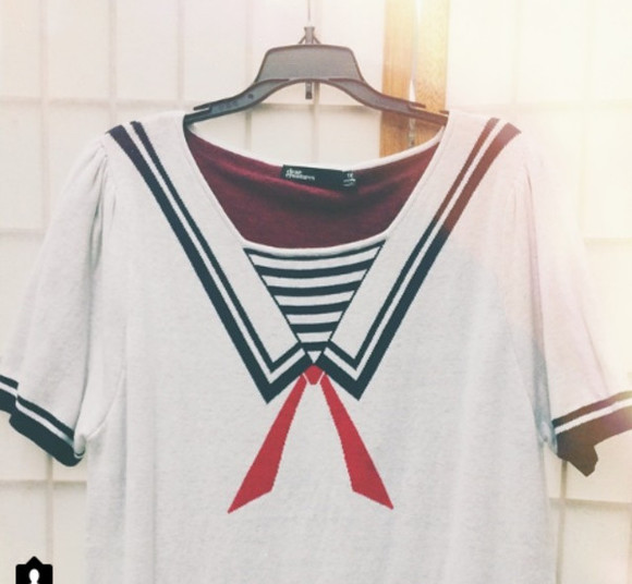 sea blouse nautical