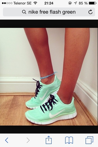 shoes green shoes green nike running shoes free run