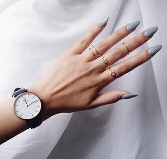 jewels grey watch minimalist jewelry