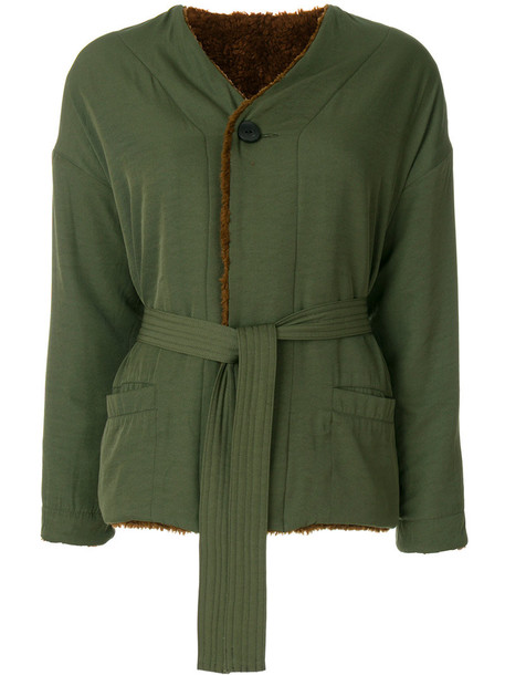 jacket women green