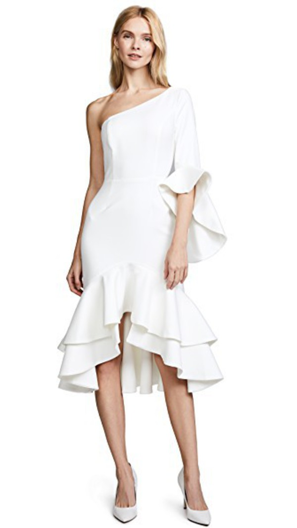 Fame and Partners Natalia Dress in white