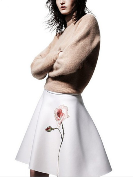 Skirt Plaid Skirt Midi Skirt Floral Floral Dress Ootd Ootdfash Ootd Dress Tumblr Outfit