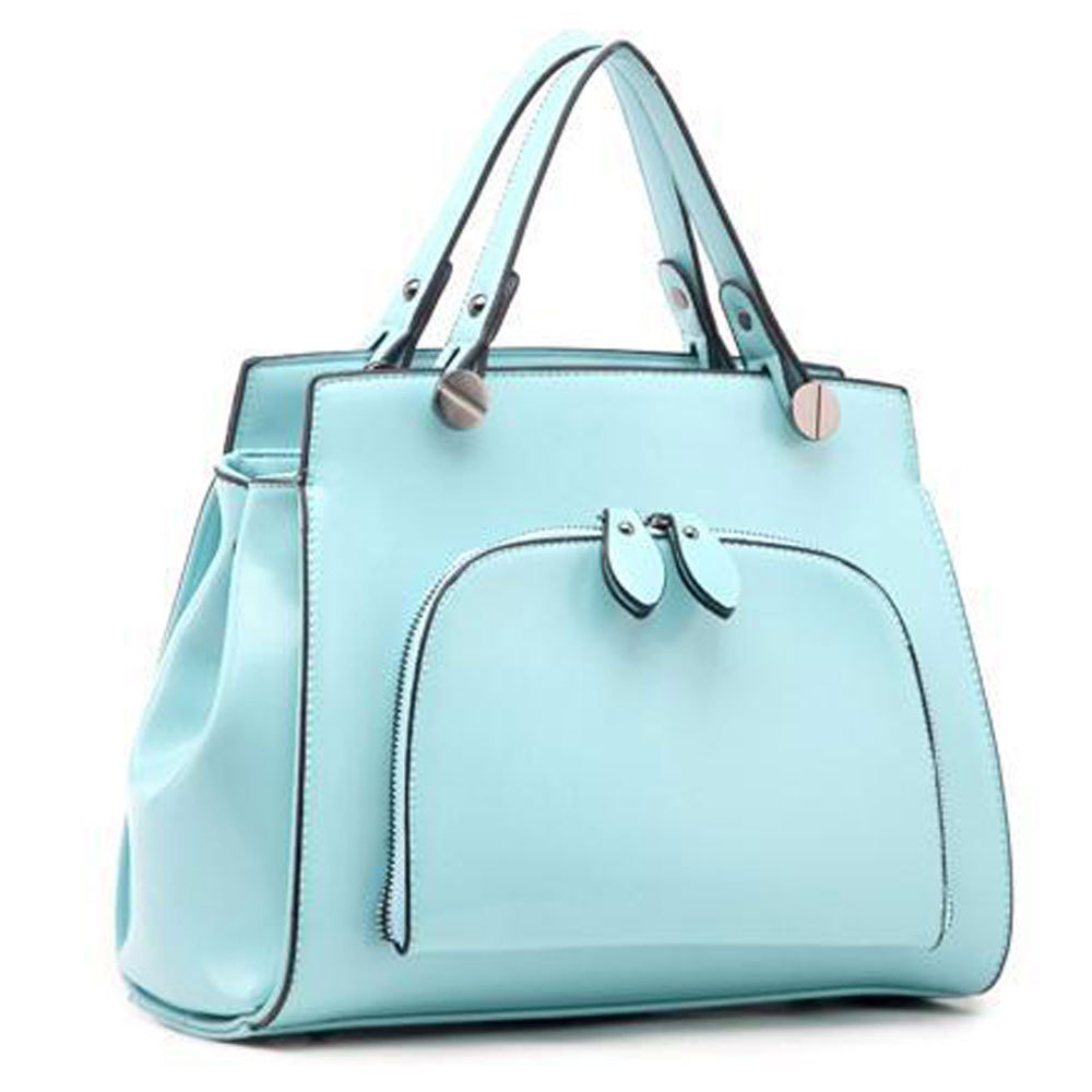 [grxjy5204184]Fashion Candy Color Handbag Shoulder Bag Cross Body Bag