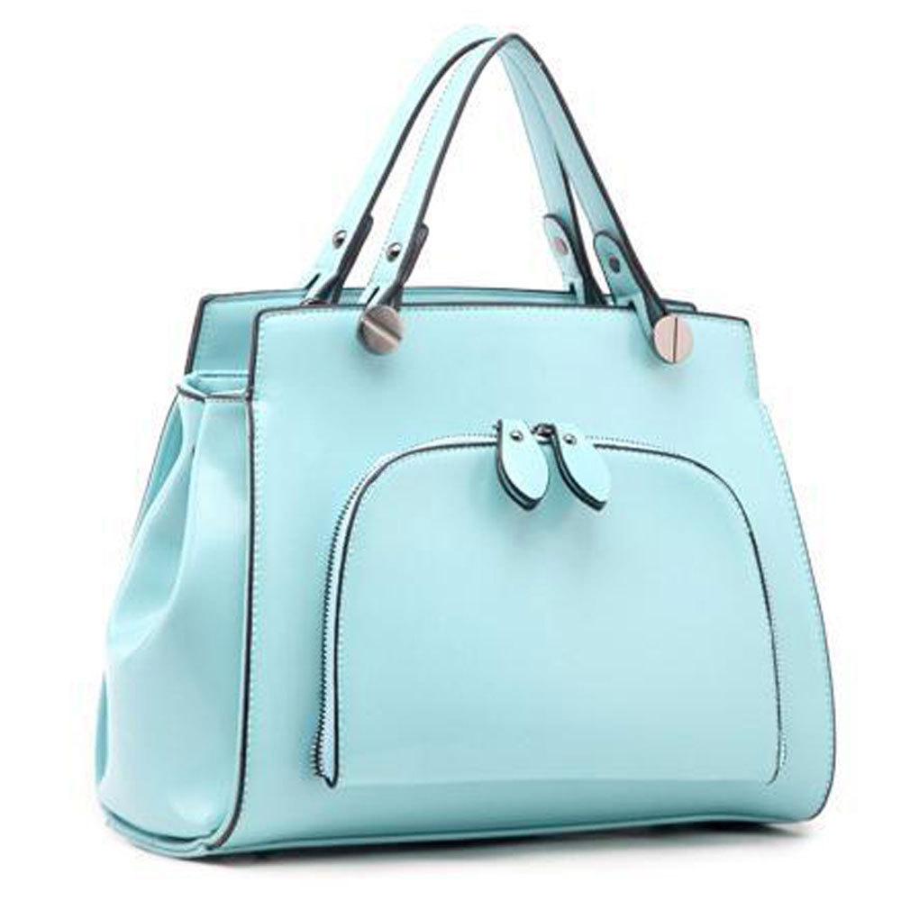 [grxjy5204184]Fashion Candy Color Handbag Shoulder Bag Cross Body Bag