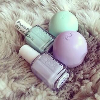 make-up nail polish lip gloss eos essie prom beauty