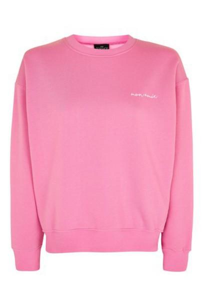 Topshop top pink