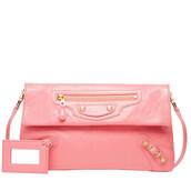 bag,clutch,leather clutch,envelope clutch,balenciaga