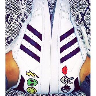 shoes hipster adidas patch sneakers low top sneakers