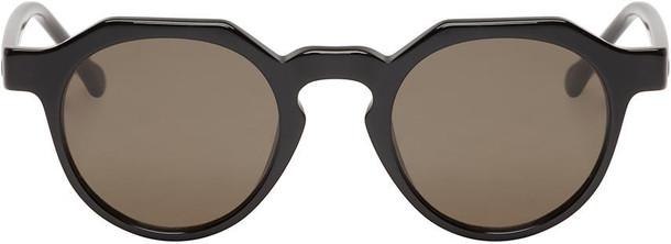 LOEWE geometric sunglasses black