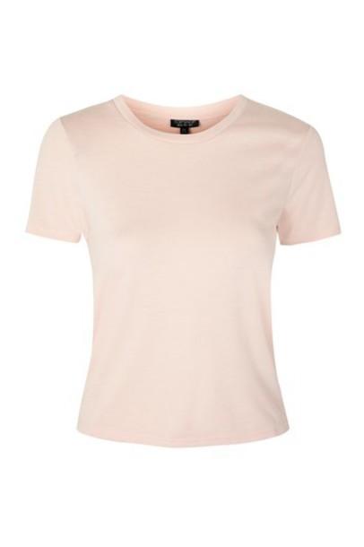 t-shirt shirt t-shirt pale pink top