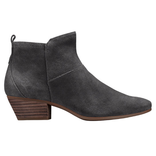 5714d8be213 Timberland | Women's Carleton Side-Zip Suede Ankle Boots