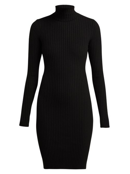 dress black wool