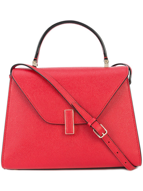 Valextra - Iside tote - women - Leather - One Size, Red, Leather