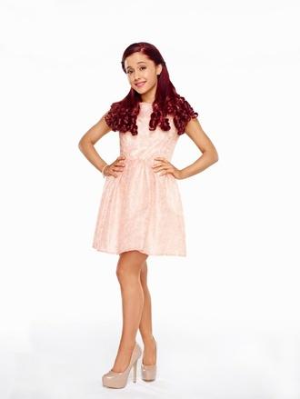 ariana grande cat valentine sam & cat pink dress
