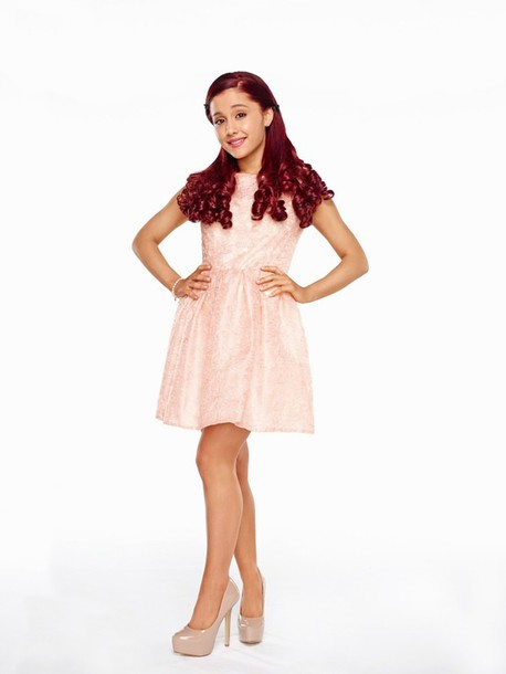 Dress: cat valentine, ariana grande, sam & cat, pink dress ...