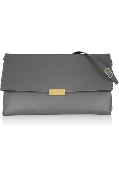 Stella McCartney|Faux leather shoulder bag|NET-A-PORTER.COM