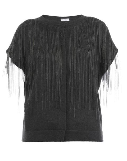 BRUNELLO CUCINELLI cardigan cardigan grey sweater