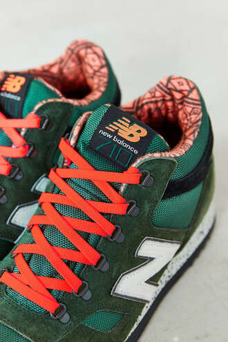 shoes 710 sneakers orange colorfu nike sneakers new balance new balance sneakers colorful