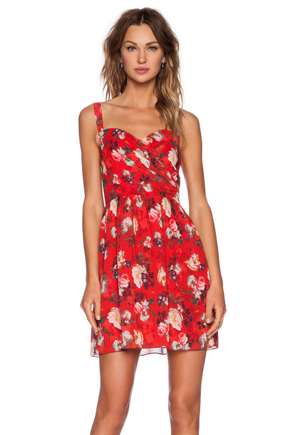 The Kooples dress spring red