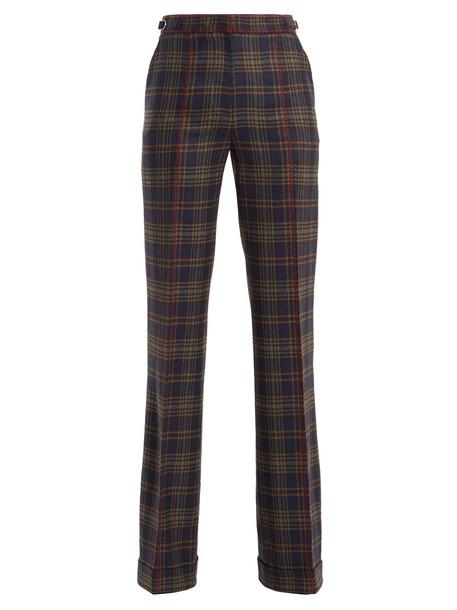 Gabriela Hearst wool navy pants