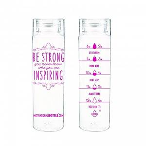 Amazon.com : Pink Motivational Water Bottle® : Sports & Outdoors