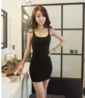 dress,plain black dress,black,style,trendy,casual,summer,trendsgal.com,bodycon dress