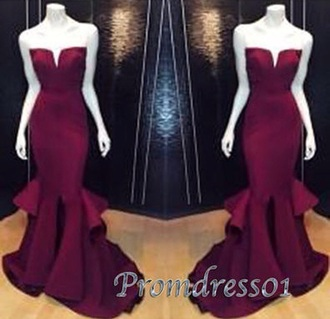 dress wine red elegant grad graduation debs formal long prom plum red purple burgundy floor length strapless beandeau mermaid layers layer layered structured evening formal dresses cheap evening dresses online evening gowns on sale 2016 prom dresses uk cheap unique prom dresses cheap prom dresses under 200 prom dresses under 200 homecoming sexy tall slim lost prom gown burgundy prom dress wine prom dress maroon/burgundy prom dress ruffle dress halter dress burgundy dress gorgeous amazing exactly like this mermaid prom dress sweetheart dress satin satin dress