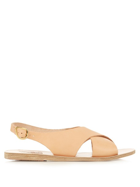 Ancient Greek Sandals sandals leather sandals leather tan light shoes