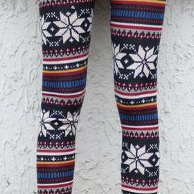 REINDEER KNITTED LEGGINGS on Luulla