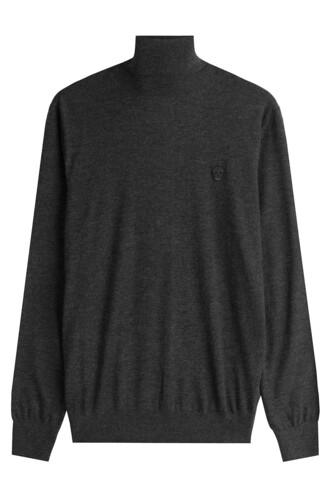 turtleneck grey sweater