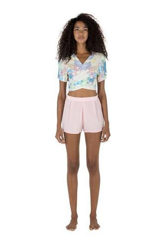 top sapia simone crop tops wraps at the front rayon adjustables straps bikiniluxe