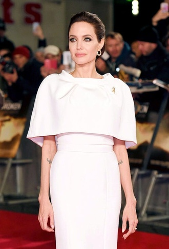 baby pink angelina jolie dress