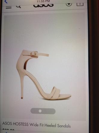 shoes wide fit asos high heel sandals