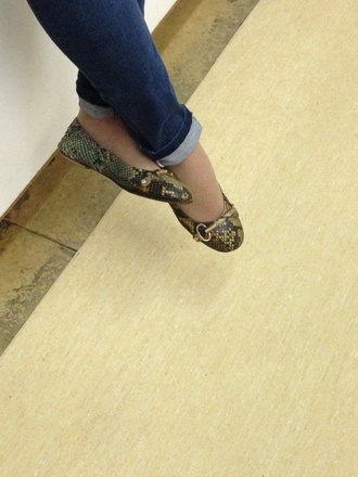 shoes gold leather flats gold sign snake print snake print snake leather flats green brown shoes leather green shoes