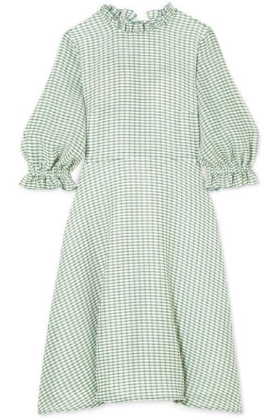 Rejina Pyo dress mini dress mini green gingham