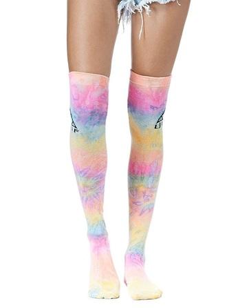 socks tie dye