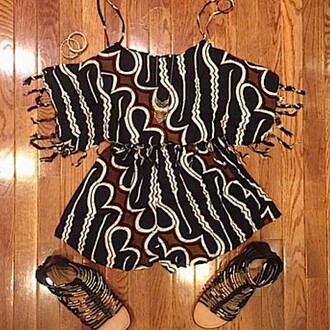 romper divergence clothing beach romper fringe romper boho cute rompers indah clothing boho patterns shorts festival style coachella fashion
