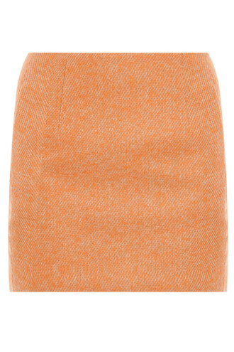 skirt mini skirt mini orange