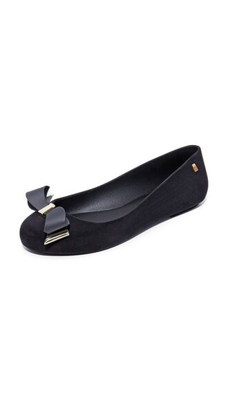 space love flats black shoes