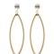 Opulent minimalism earrings