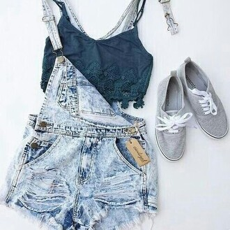 vans top bikini blouse cardigan earings bag socks t-shirt sunglasses neon tropical green dungarees forever 21 brandy melville fashion victoria's secret jewels summer outfits tank top swimwear acid wash
