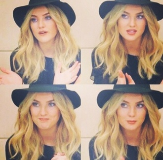 black hat perrie edwards