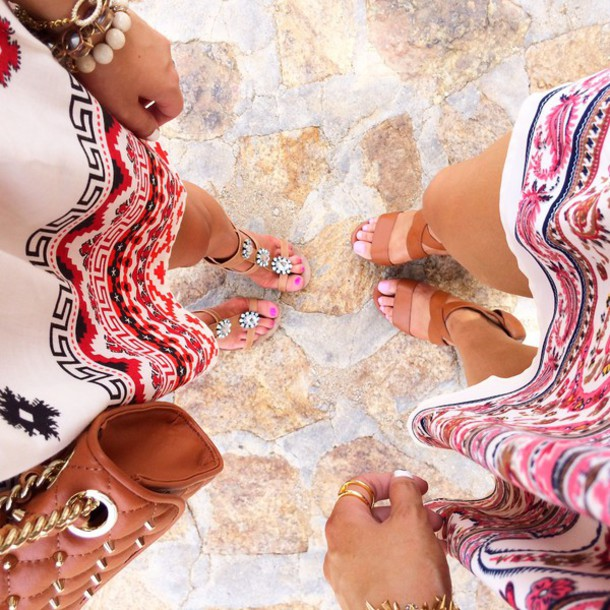 shoes heels sandals brown lether rose pink pink dress red dress red white